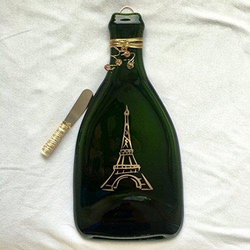 Eiffel Tower Champagne Bottle Tray