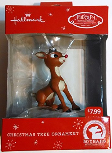 Rudolph The Red-Nosed Reindeer, Hallmark Christmas Tree Ornament