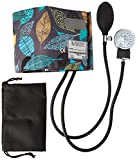 Prestige Medical Premium Adult Aneroid Sphygmomanometer, Leaves Grey