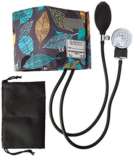 Prestige Medical Premium Adult Aneroid Sphygmomanometer, Leaves Grey by Prestige Medical (Image #1)