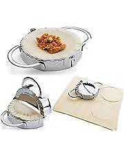 Presse à pâte et moule à ravioli / tarte / dumpling i-Auto Time en acier inoxydable