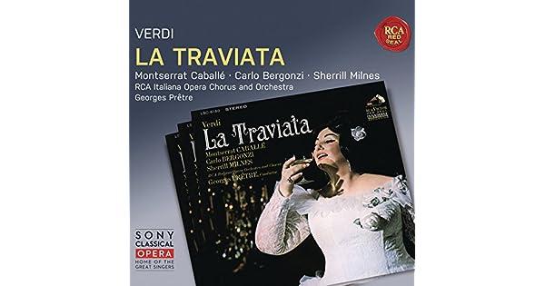 Amazon.com: La Traviata: Act I: Un dì felice eterea: Carlo ...