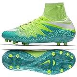Nike WMNS Hypervenom Phantom II FG 718752-313 Green/Turquoise Soccer Cleats (size 13)