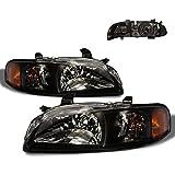 SPPC Black Headlights For Nissan Sentra - (Pair)