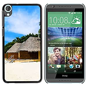 - Sunshine beach island - - Slim Guard Armor Phone Case FOR HTC Desire 820 D820 d820t Devil Case