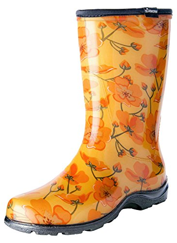 and Sloggers Size Boot Style Black Rain Dreaming Insole 8 5013BP08 Comfort Garden Women's with California Dot Waterproof White Polka wrF4OtxF
