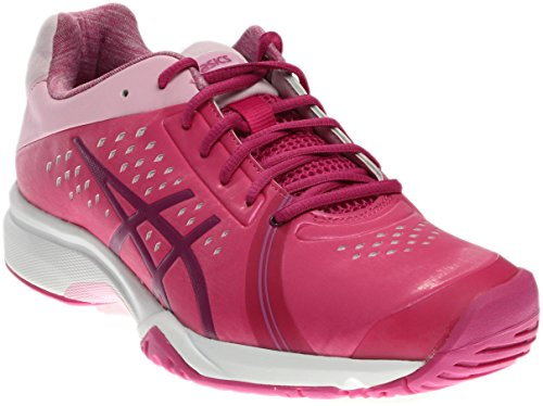 ASICS Women's Gel-Court Bella Tennis Shoe, Berry/Plum/Cotton Candy, 8.5 M US