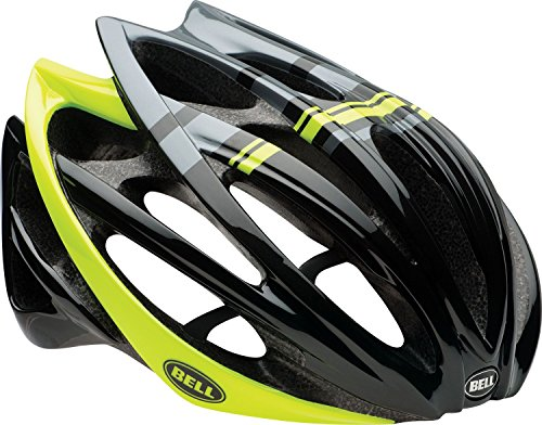 Draft Helmet - Bell Gage Bike Helmet - Black/Hi-Vis Yellow Draft Large