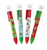 Raymond Geddes Peanuts Holiday 6 Color Pen With Stamper (70198)