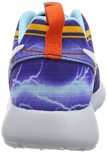 Nike  Roshe One Print (Gs),  Jungen Laufschuhe Mehrfarbig (Deep Royal Blue/White-University Gold-El)