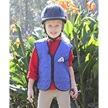 CHILD'S SIZE - HyperKewl Cooling Sport Vest - Keeps Kids Safer in the Heat - -HI-VIZ LIME-10-12