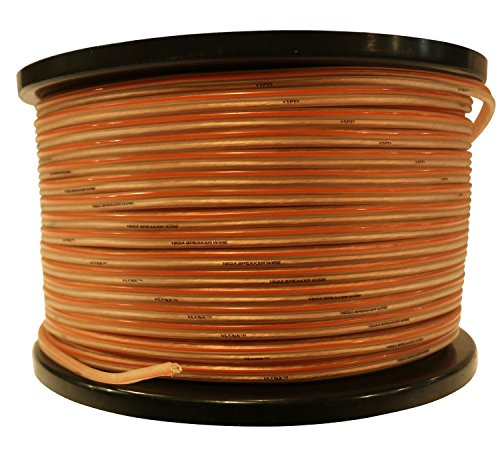 16 AWG 500ft VLYNX Speaker wire spool home theater & PA INSTALLATION cable by VLYNX