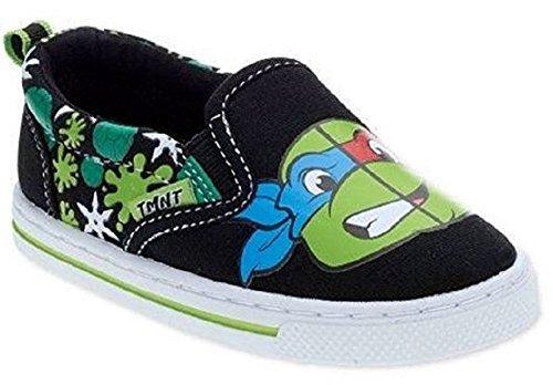 Teenage Mutant Ninja Turtles Boys Toddler/Little Kid Casual Slip On Shoes (8 M US Toddler)