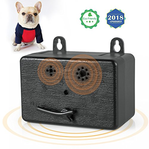 Repeller Single - ShamBo Anti Barking Device, Ultrasonic Dog Bark Control Sonic Bark Deterrents Silencer Stop Barking Bark Stop Repeller