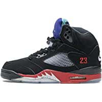 Men's 5 Retro OG Fearless Fashion Classic Breathable Comfortable Lightweight Non-Slip Wearable High-Top Training Shoes…