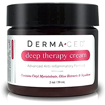 Dermaced Deep Therapy Cream - #1 Best Recommended Advanced Eczema and Psoriasis Treatment Cream - Soothe and Nourish Dry, Itchy, & Painful Skin on Contact