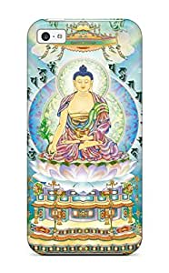 First-class Case Cover For iphone 6 plus Dual Protection Cover Buddhism