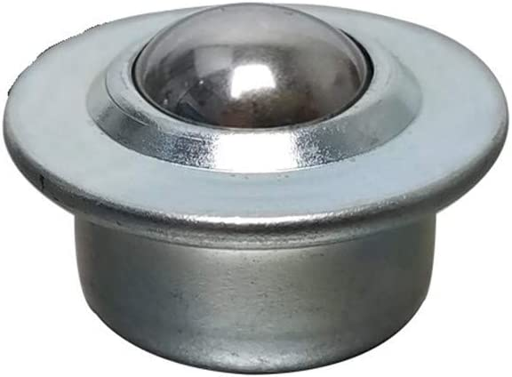 BAIJIAXIUSHANG-TIES Precision Ball Casters CY-22H 304 Stainless Steel Ball and Shell Stud Mount Ball Transfer Unit Load Capacity 30-40kgs Conveyor Ball Bearing Roller Ball Size : CY 22H