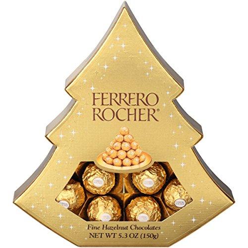 Ferrero Rocher Tree, 12 Count (Christmas Gift Baskets Under $10)
