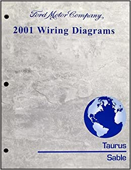 2001 ford taurus & mercury sable wiring diagram manual original paperback –  2001