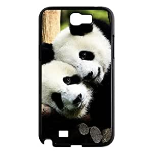 case Of Panda Customized Bumper Plastic Hard Case For Samsung Galaxy Note 2 N7100