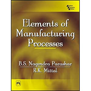 Elements of Manufacturing Processes