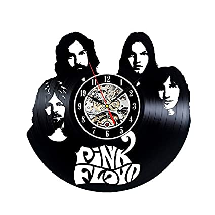 Vinyl Record Wall Clock for Pink Floyd Fans