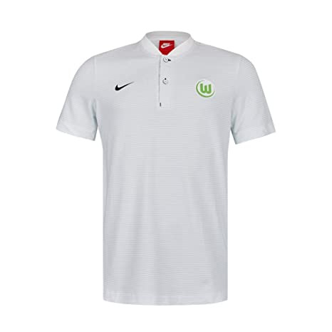 finest selection 88a06 4c809 Amazon.com : Nike 2017-2018 VFL Wolfsburg Authentic Polo ...