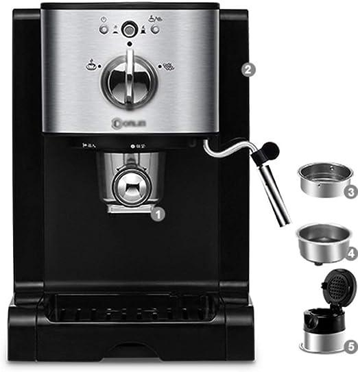 Cafetera Cápsula Inicio automático de Negocios Mini un fácil y rápido de la máquina de café: Amazon.es: Hogar