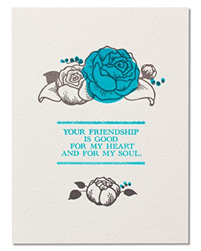 American Greetings Funny Heart and Soul Birthday Card for Friend (Cute Birthday Cards For Best Friend)