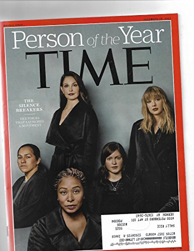 Time magazine december 18 2017{Postal label on front] Person of The Year issue