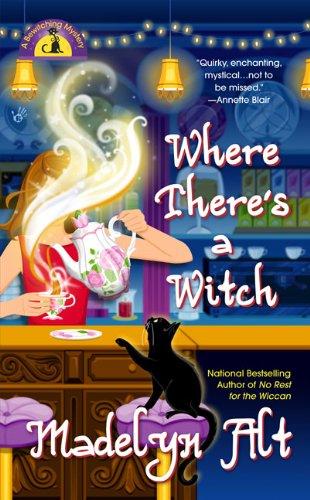 Where There's a Witch (Bewitching Mysteries, No. 5) (Halloween In Indiana)