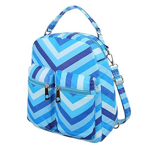 Rucksack Freizeit Backpack Tasche Blau