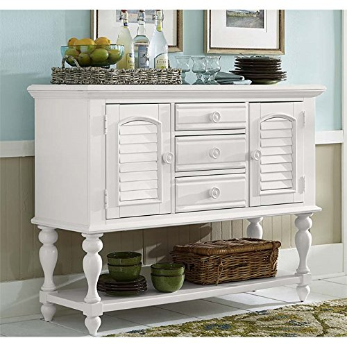 Oyster Server - Liberty Furniture Summer House I Server in Oyster White