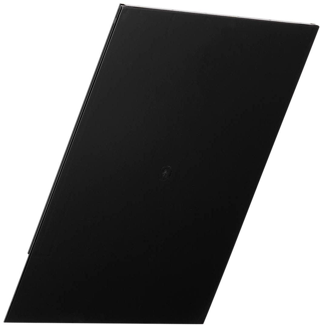 DURABLE - Frontalino di chiusura Flexiboxx A4, per vaschetta aggiuntiva Flexiboxx A4, 240x300x7 mm, nero (cod. #1701498060)