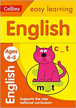 English Ages 4-5: New Edition (Collins Easy Learning Preschool)