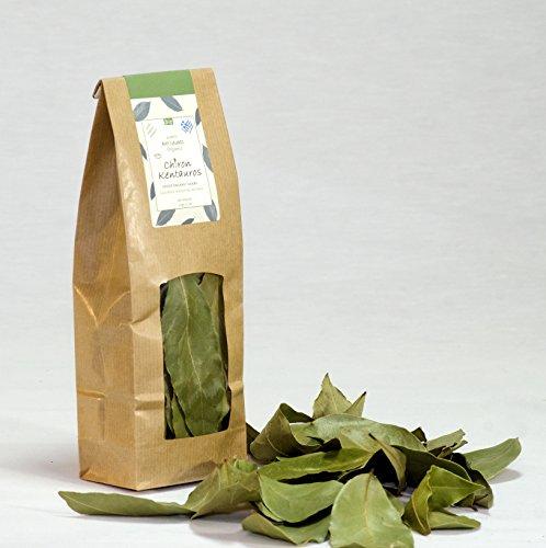Bio Organic Bay Laurel Leaves from Mount Pelion Greece - GMO/Caffeine Free ()