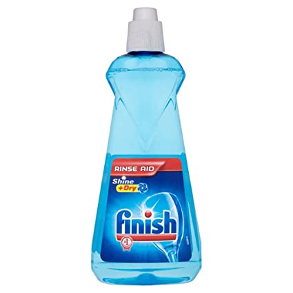 Set 12 FINISH Enjuague 400ml azul original Limpiadores Toallitas Detergentes