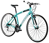 Diamondback Bicycles Clarity ST Women's Performance Hybrid Bike, Blue, 20″/Large