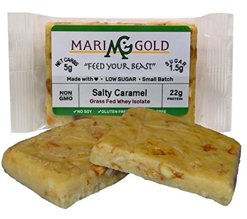 MariGold GRASS FED Whey Protein Bars Sampler Pack- 21+gm Protein, Even LOWER Sugar, Non GMO, Amazing Taste - Made Fresh, Ships Fresh. Purest Ingredients (12) by MariGold Bars (Image #7)