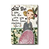 Demdaco Kelly Rae Roberts Dear Girl Wall Art, 8 by 12-Inch