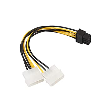 Dandeliondeme Graphics Card Power Cable, 18cm 8 Pin: Amazon