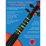 Fretless Finger Guide Learning Manual, Song Library and Full Size Violin (4/4) Guide.