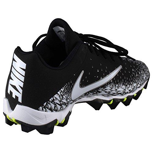 Nike Hommes Vapeurs Requin 2 Football Taquet Noir / Blanc / Argent Métallique Taille 11 M Us