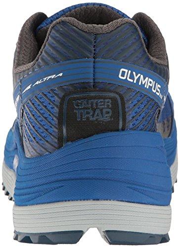 Altra Olympus 2,5 Mens Trail Löparskor | Vandring, Fastpacking, Spår Racing | Noll Drop Plattform Footshape Tårna, Förstärkt Övre | Redo Att Leverera Kudde, Komfort Och Grepp Blå