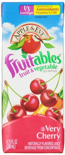 Apple & Eve Fruitables, Very Cherry, 6.75 Fluid-oz., 40 Count ()