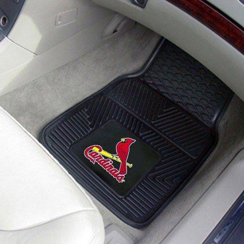 Cardinals Car Mats 2 Piece - 2
