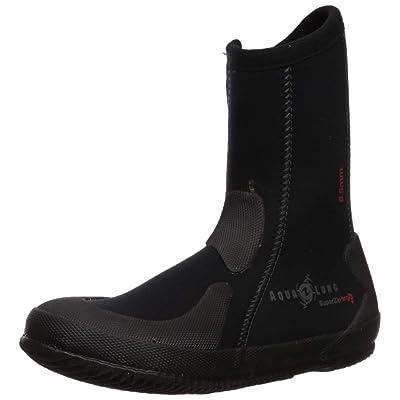 Aqua Lung 6.5mm Superzip Ergo Boots: Sports & Outdoors