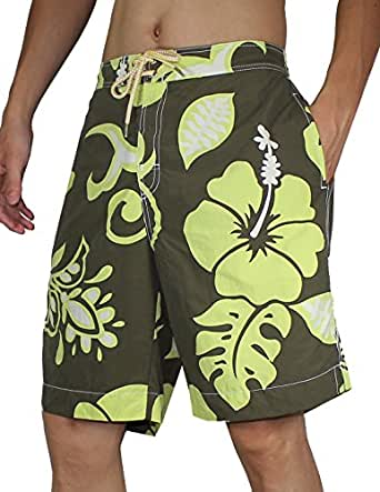 Tommy Bahama Mens Surf / Beach Shorts with Swim Lining XL Multicolor