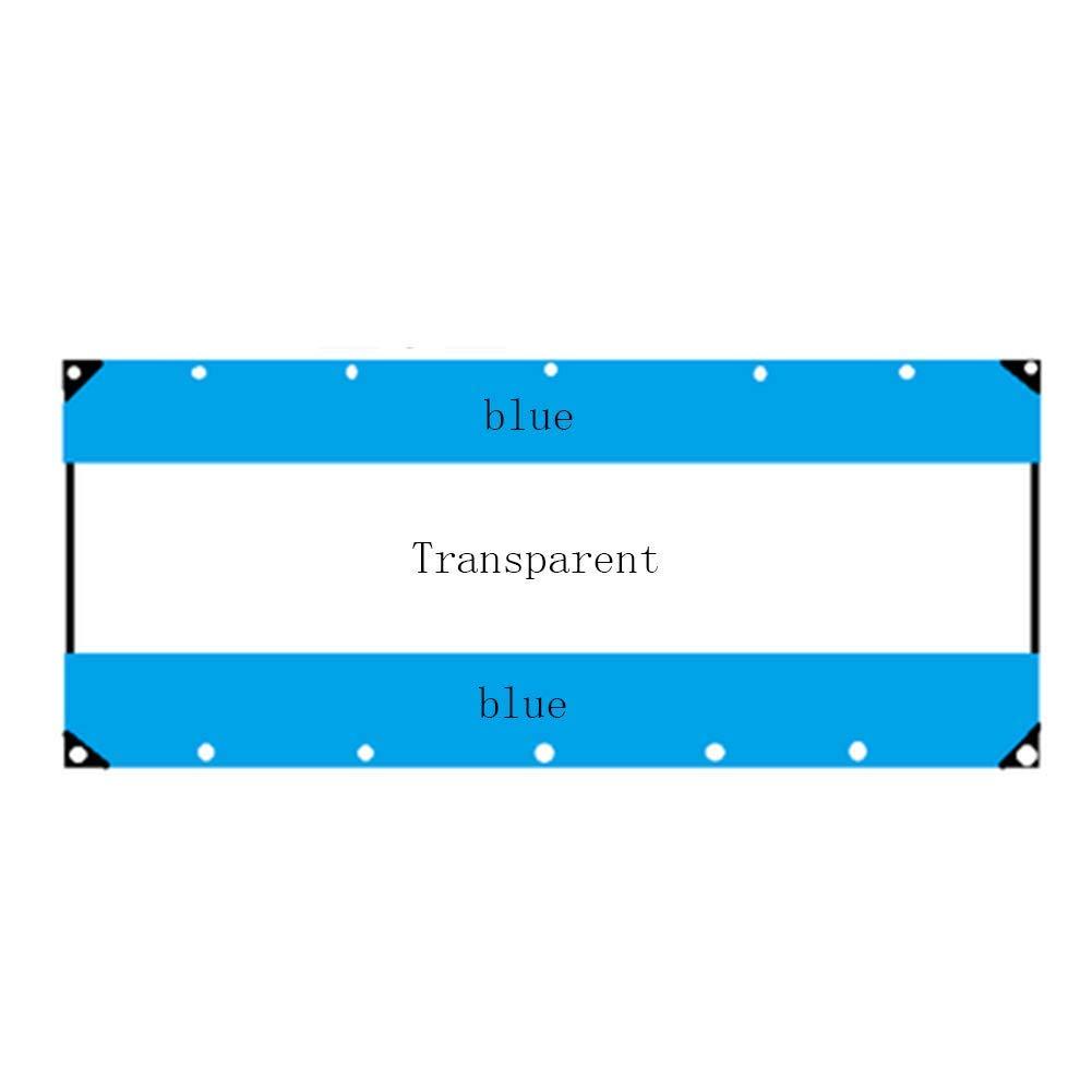 JIANFEI Teloni Impermeabile Pioggia Protezione Capannone Tenda Isolamento 4 Colorei 17 Dimensioni Personalizzabile (colore   Red, Dimensioni   3x3m)